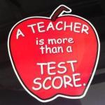 test score