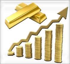 upward trend dollars