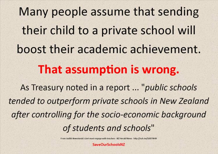 Private schools v. Public Schools