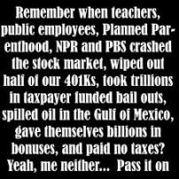 remember when teachers crashed the stock market