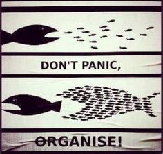 don't panic - organise
