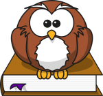 Owl and dictionary