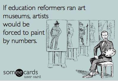 If Ed reformers ran art galleries...