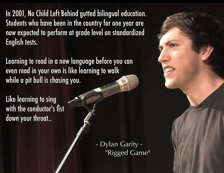 Dylan Garity - Rigged Game - poetry slam