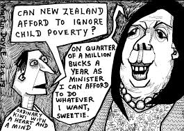 Paula Bennet on child poverty