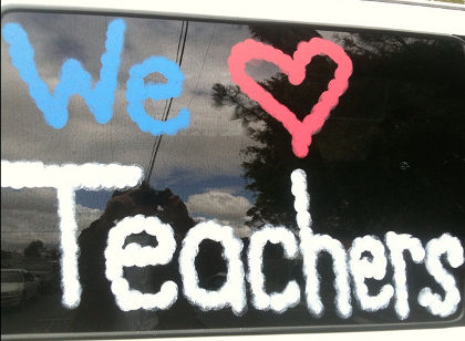 we love teachers