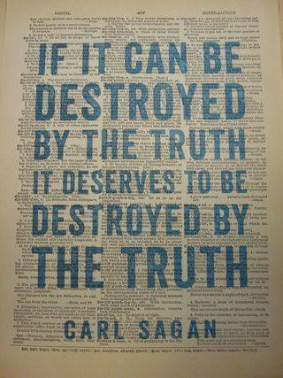 Carl Sagan truth