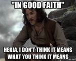 in good faith - Hekia Parata - Inigo Montoya