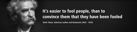 Twain on fools