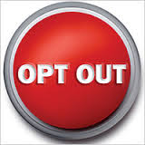 opt out red