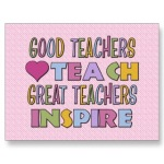 Great teachers inspire