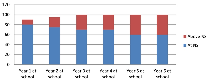 National Standards graph 2