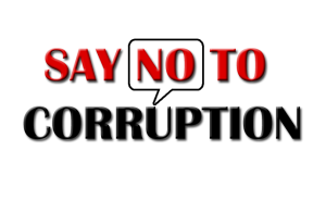 no to corruption