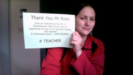 Teacher - Mr Ross