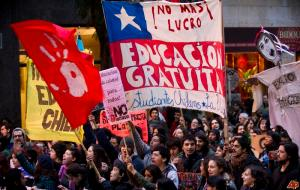 chile education protests