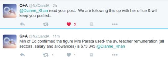 average teacher wage tweet