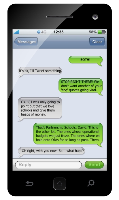 texting meme b