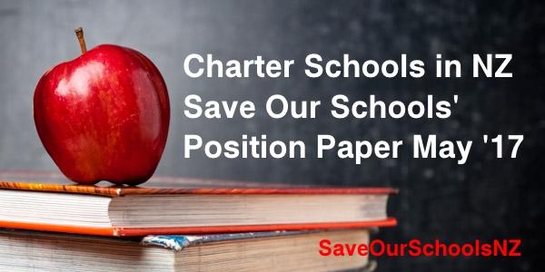 charter schools sosnz position paper