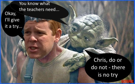 Chris Hipkins, do or do not – there is no try…